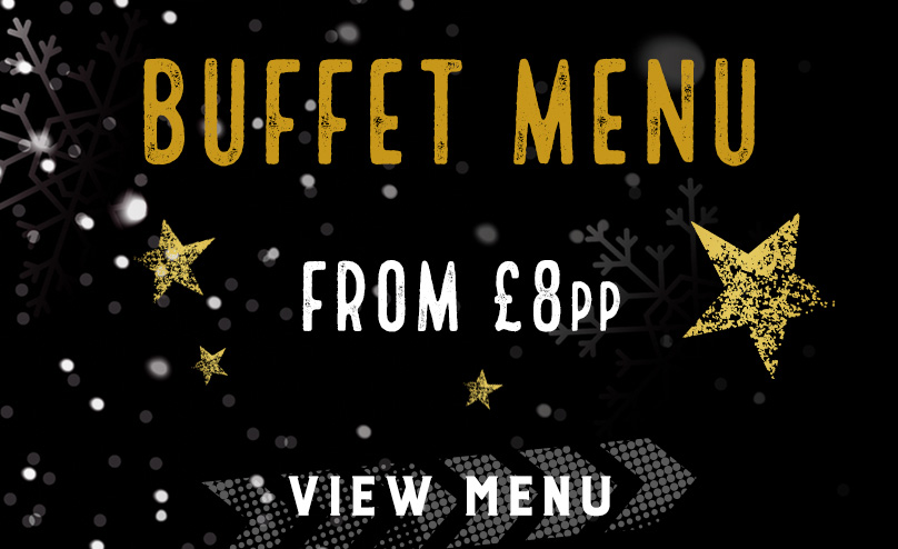 Festive buffet menu at The Font